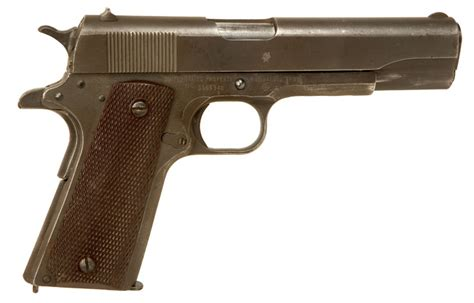 deactivated spec wwii colt 1911a1 pistol allied deactivated guns deactivated guns