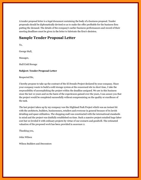 Tender Offer Letter Exle Tender Letter 25 Images 10 Best Images Of Invitation To Tender Sle Tender Invitation Letter