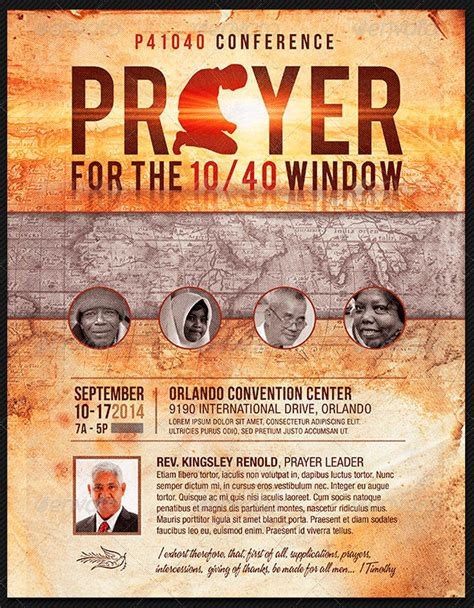 Prayer Conference Church Flyer Template The Prayer Confere Flickr Prayer Flyer Template