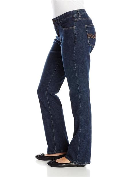 lee comfort waistband stretch womens jeans lee womens jeans comfort fit barely bootcut jean stretch