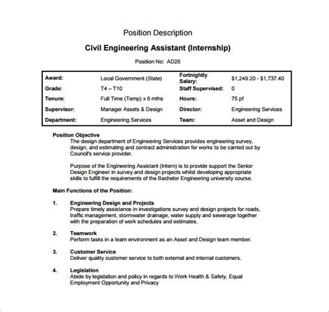 design engineer job description pdf sle engineer job description manufacturing process