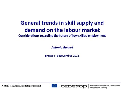 labor market trends section 1 answers general trends in skill supply and demand on the labour market