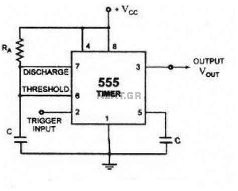 timer relay circuit diagram touch circuit diagram 555 timer relay touch get free