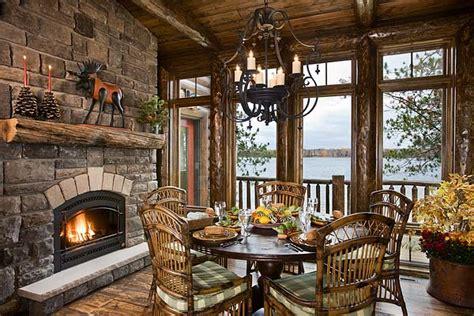 Alaska Fireplace by Log Home Photographs From Expedition Log Homes Of Alaska