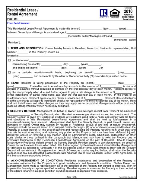 1 Year Lease Agreement California - 12 best images of rental agreement pdf month rental