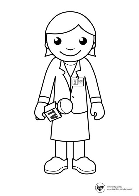 preschool coloring pages community helpers reporter printable coloring pages pinterest