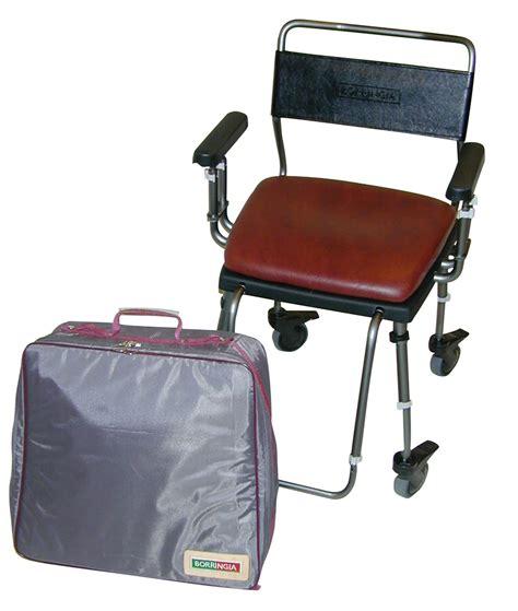 travel shower commode chair borringia chameleon travel shower commode chair living