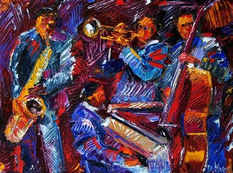 Wall Murals Cityscapes debra hurd original paintings and jazz art jazz abstract