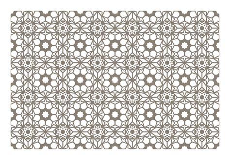 pattern islamic vector seamless islamic pattern vector download free vector art