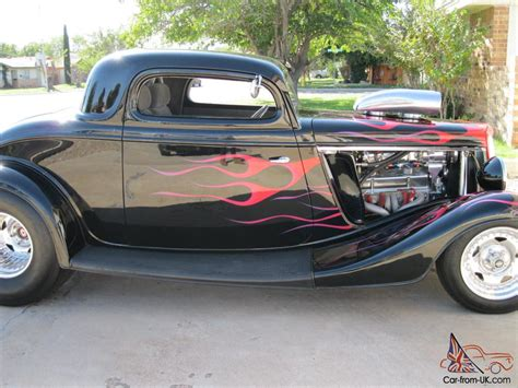 34 Ford Coupe by 34 Ford 3 Window Coupe