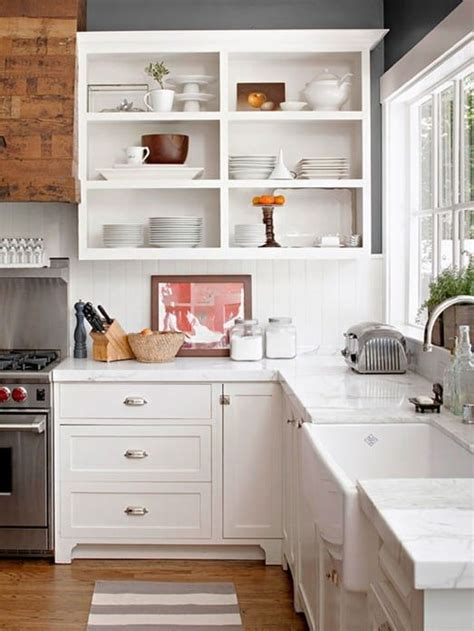 open shelving kitchen ideas my home 10 open shelving ideas for the kitchen