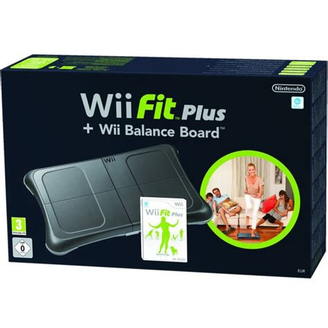 nintendo wii console bundle with wii fit plus pack wii fit plus wii balance board black bundle nintendo