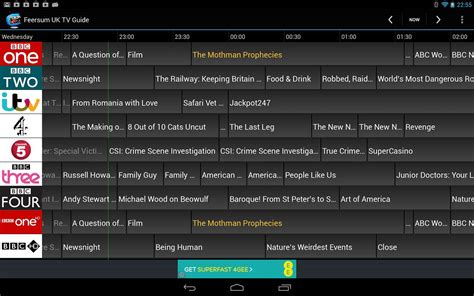 tv guide for android feersum uk tv guide android apps on play