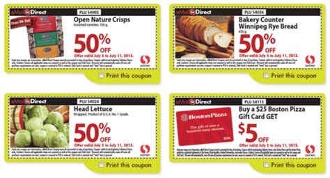 haircut coupons winnipeg safeway direct printable store coupons july 5 11