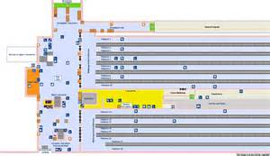 Paddington Station Floor Plan by National Rail Enquiries