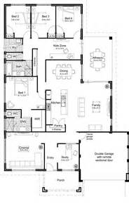 floor plans for homes with modern open one story home plan design