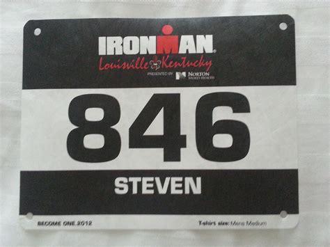Ironman Bib Picture