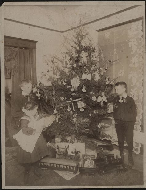 christmas decorations in the 1800s traditions kansapedia kansas historical society