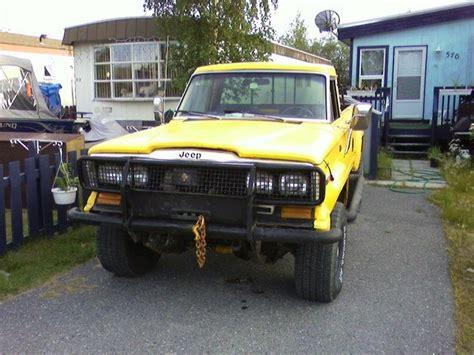 jeep honcho custom frankss666 1982 jeep j10 honcho specs photos