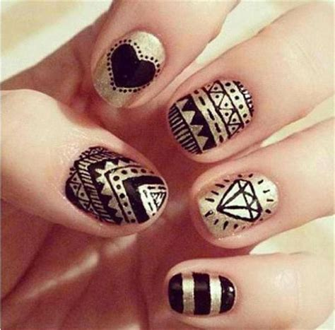 nail design ideas for beginners simple black nail designs supplies for beginners