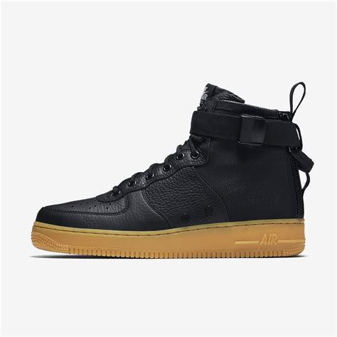Sepatu Nike As Sf Air 1 Mid Black Hazel Hitam nike sf af1 mid black gum 917753 003 sneakernews