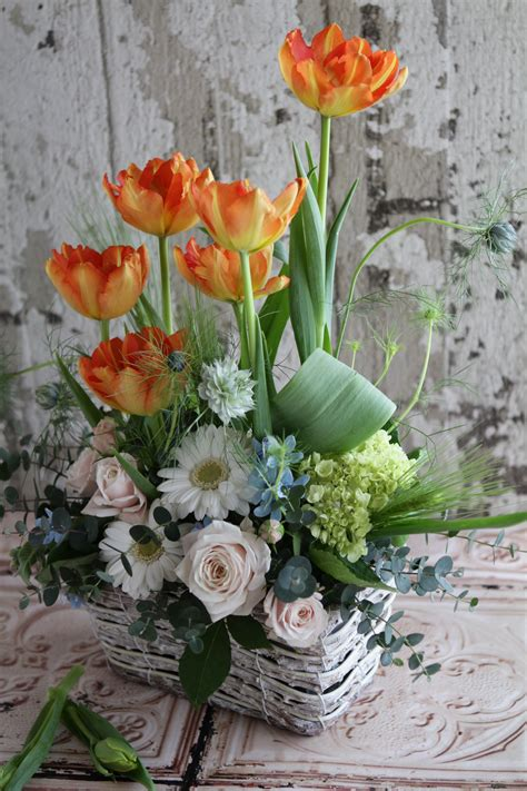 spring flower arrangements spring arrangement floral arrangements pinterest