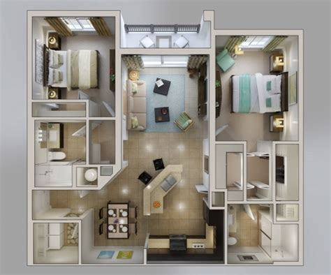 home design 3d 50 3d floor plans lay out designs for 2 bedroom gorgeous 50 3d floor plans lay out designs for 2 bedroom
