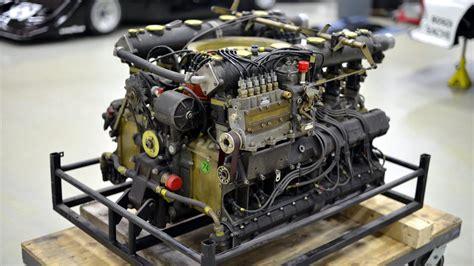 A Porsche 917 Flat 12 Engine Rebuilt In 3 Minutes