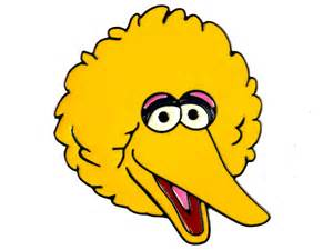 big bird template sesame big bird pictures to pin on