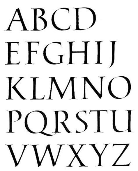 lettere romane la capitale romaine aux origines de l alphabet