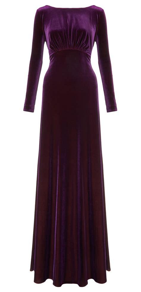 Longdress Velvet rafaella velvet dress ariella