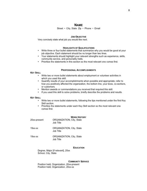 tv producer free resume sles blue sky resumes free your resume entry level resume