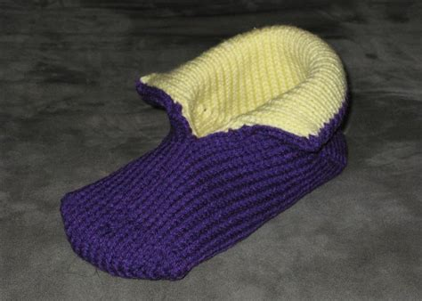 machine knit sock pattern machine knitting machine knit slipper
