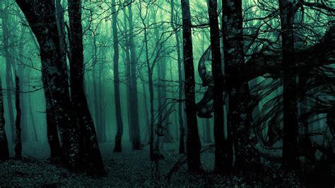 Dark Colors by Dark Ghost Gothic Wood Trees Fantasy Evil Horror Wallpaper