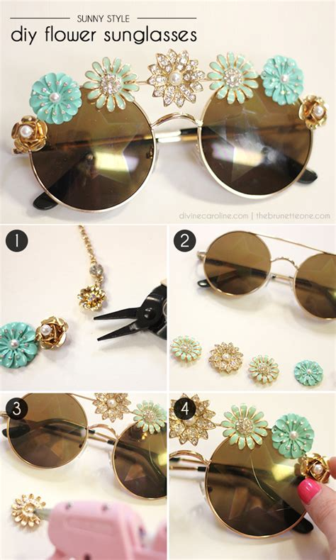 Diy Glasses style diy embellished sunglasses more