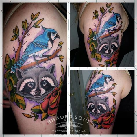 regular show tattoo shadedsoulmike regular show inspired traditional