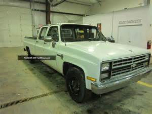 1985 chevrolet crew cab truck