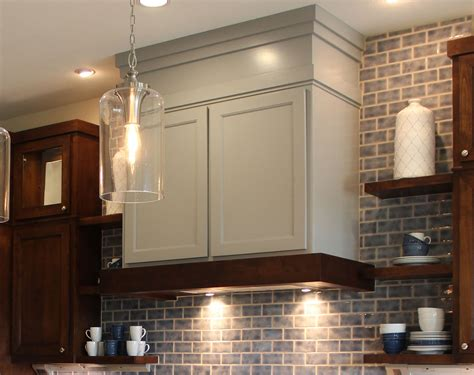 Vent hood craftsman burrows cabinets central texas builder direct custom cabinets