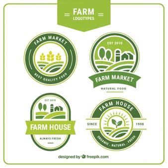 farm logo  vectors stock  psd