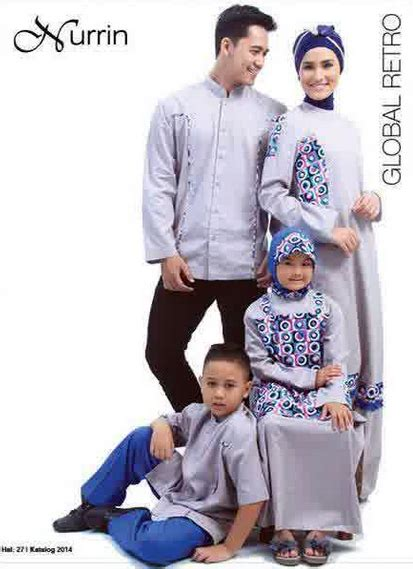 Baju Muslim Pasangan Modern gambar baju muslim modern pasangan keluarga trend 2016