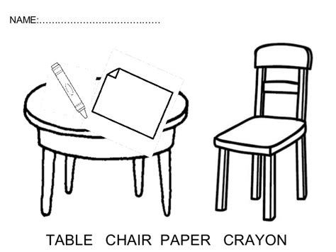 a chair for my worksheets worksheets for 3 years for teachers infantil