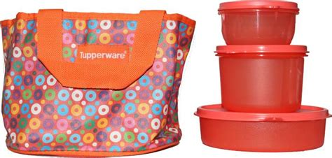 Tupperware My Pony Lunch Set flipkart tupperware day out 3 containers lunch box