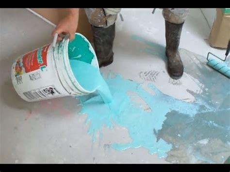 Concrete Primer Application before Using Self Leveling