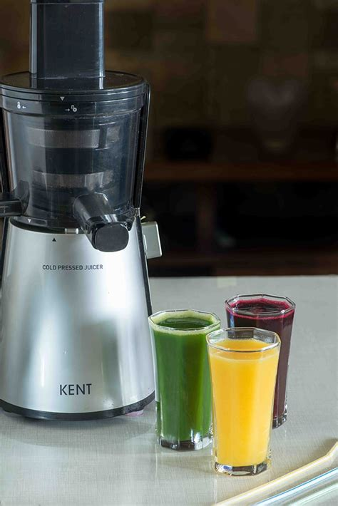 Alat Cold Pressed Juicer three delicious juice recipes with kent cold pressed