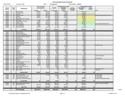 departmental budget template business budget templates sle church budget design