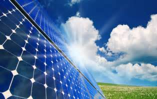 solar panel powerpoint template credit stock image
