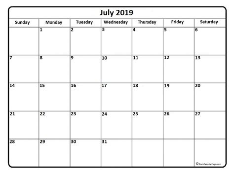 july  calendar  calendar templates   calendars