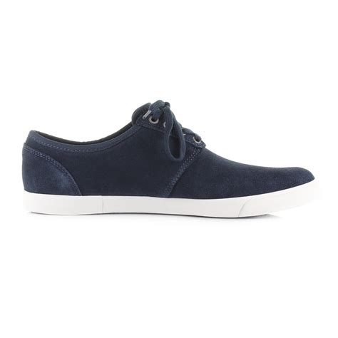 Casual Suede Navy mens clarks torbay lace navy casual suede shoes trainers