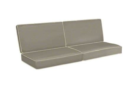 replacement cushions for sofa seats custom replacement sofa cushions 2 backs 2 seats