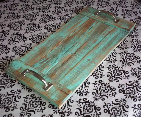 diy serving tray diy pallet serving trays